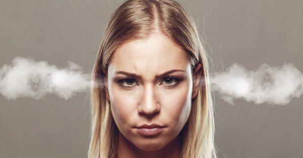 angry woman pic