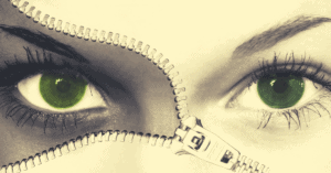 eyes when lying