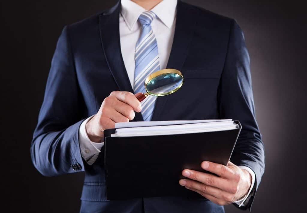 Investigating company documents