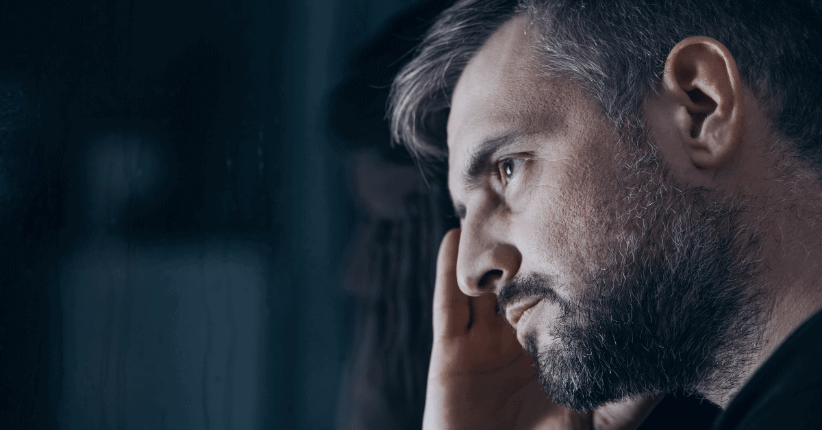 man with affair withdrawal symptoms